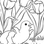 Coloring Pages For Kids Spring