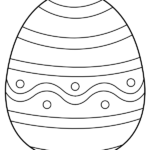 Printable Easter Egg Coloring Pages Pdf