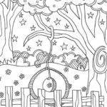 Summer Doodle Coloring Pages