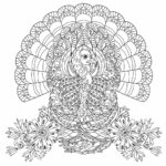 Coloring Pages Thanksgiving Printable