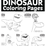 Good Dinosaur Coloring Pages Printable