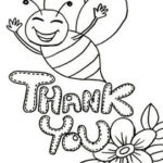Coloring Pages Free Printable Thank You Cards To Color