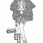 Lol Omg Doll Coloring Pages Printable
