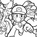 Yoshi Egg Coloring Pages