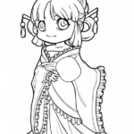 Cute Chibi Disney Coloring Pages