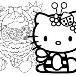 Easter Coloring Pages Hello Kitty
