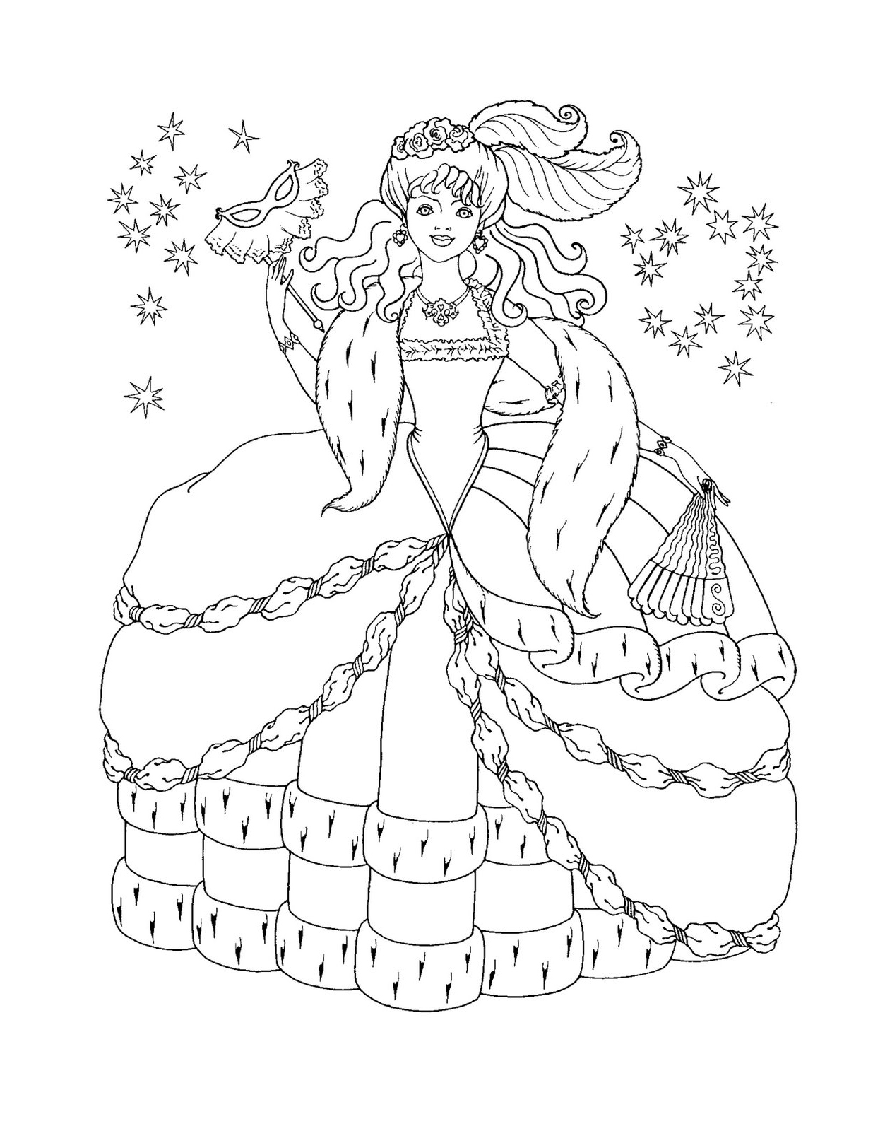 Disney princess coloring pages to print to download and ...