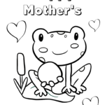 Printable Mothers Day Coloring Pictures