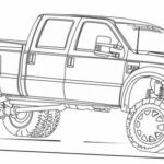 Coloring Pages Chevy Trucks
