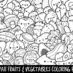 Kawaii Doodle Coloring Pages