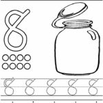 Number 8 Coloring Pages For Preschoolers
