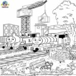 Thomas The Train Coloring Pages Diesel
