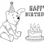 Birthday Coloring Pages Free