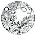 Free Online Coloring Pages For Adults Easy