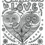 Owl Coloring Pages For Adults Printable