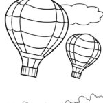 Printable Balloons Coloring Pages