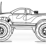 Printable Chevy Truck Coloring Pages