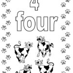 Coloring Pages For Toddlers Numbers