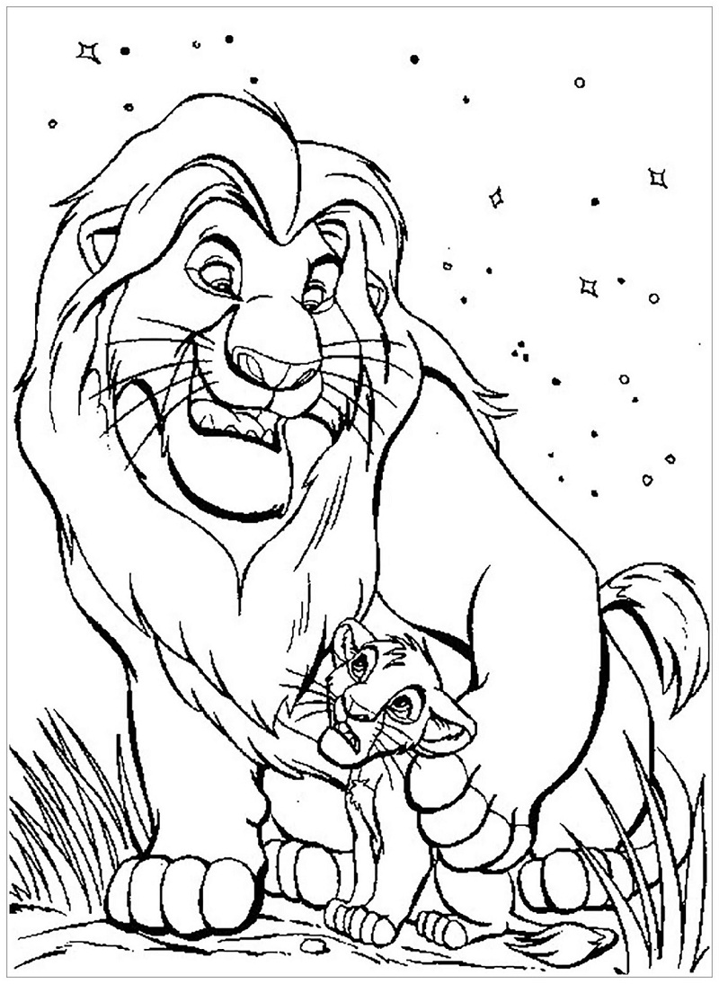 Top 20 Printable The Lion King Coloring Pages - Online ...