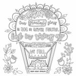 Inspirational Quotes Coloring Pages Pdf