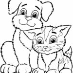 Puppy Coloring Pages Printable Kids
