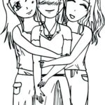 Cute Coloring Pages For Bffs