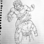 Goku Coloring Pages Ultra Instinct