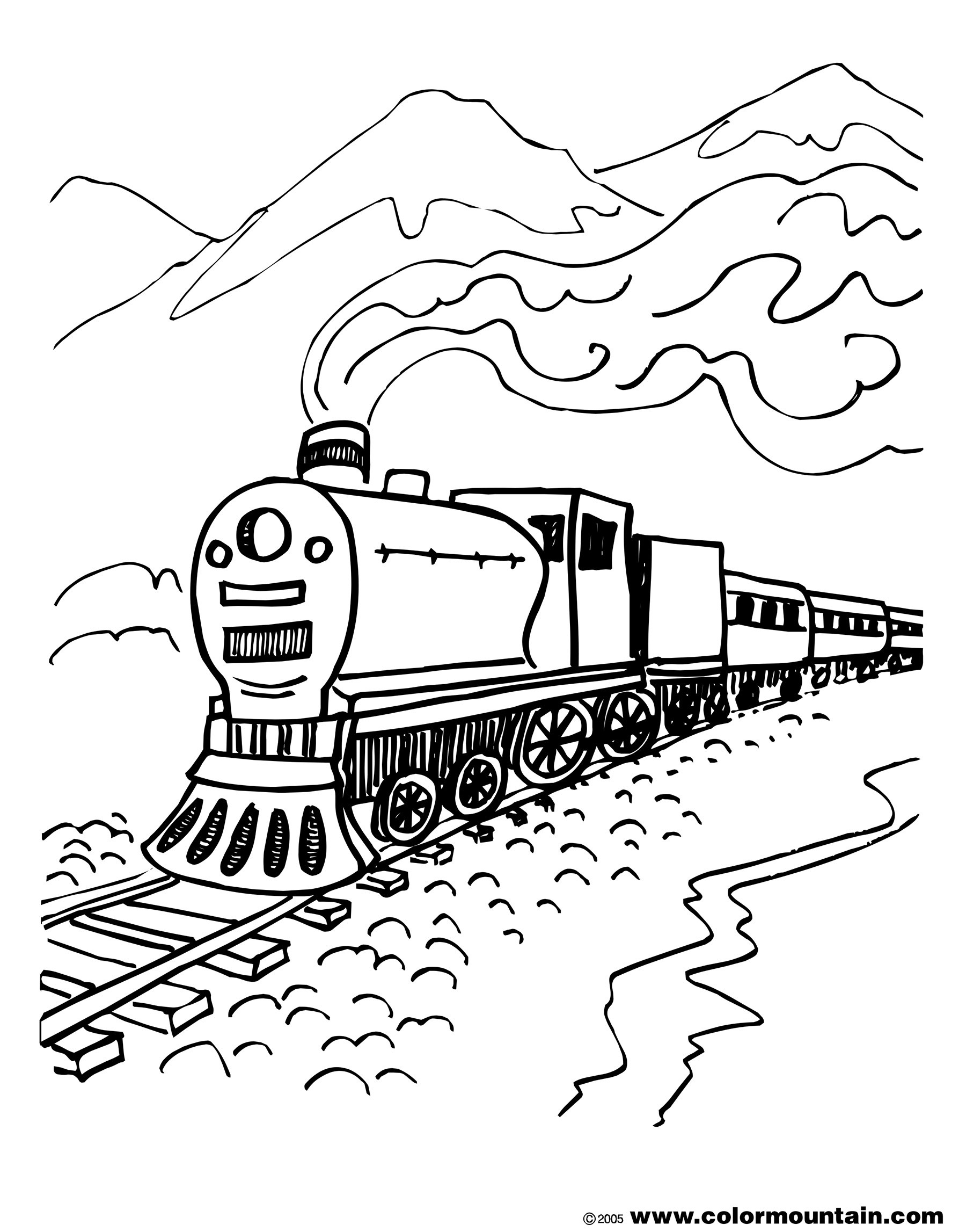 Csx Train Coloring Pages at GetColorings.com   Free ...