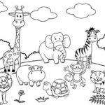 Free Coloring Pages Zoo