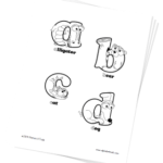 Lowercase Alphabet Coloring Pages Printable