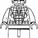 Lego Iron Spiderman Coloring Pages