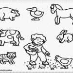 Coloring Pages Printable Farm Animals