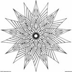 Simple Geometric Coloring Pages Printable