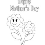 Free Printable Mothers Day Colouring Sheets