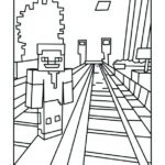 Coloring Pages Printable Minecraft