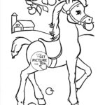 Printable Horse Head Coloring Pages