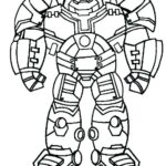 Lego Iron Man Colouring Pages