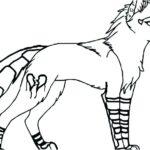 Minecraft Wolf Printable Coloring Pages