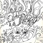 Trippy Coloring Pages Download