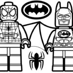 Free Printable Lego Spiderman Coloring Pages