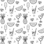 Coloring Pages Printable Summer