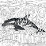 Abstract Relaxation Coloring Pages For Adults