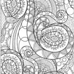 Coloring Abstract Pages