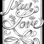 Free Printable Coloring Pages That Say I Love You