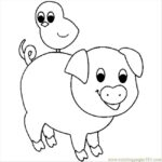 Coloring Pages Of Pigs Pictures