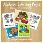 Coloring In Alphabet Letters