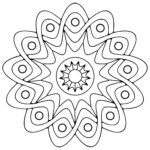 Free Coloring Pages Geometric Shapes