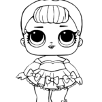 Baby Lol Surprise Doll Coloring Pages Printable