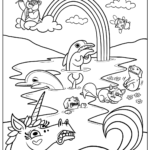 Coloring Pages For Kids To Print Food
