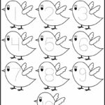 Coloring Pages Numbers 1-5